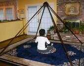 Meditation Pyramid with Crystal Apex