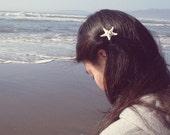 Starfish Gator Clip Girls Barrette Alligator Sea Star Nautical Mermaid Ariel Nature Ocean Nymph Beach Beachy Accessories Womens Gift For Her