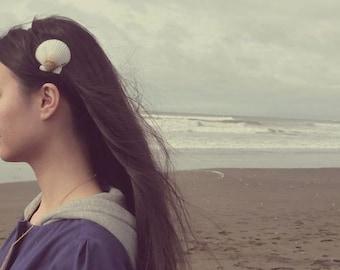 Scallop Seashell Headband Mermaid Hair Band White Sea Shell Ocean Beach Beachy Hippie Hipster Ariel Nautical Accessories Womens Gift Summer
