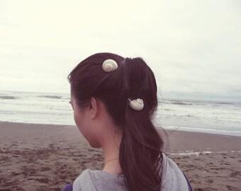 Seashell Bobby Pins Sea Shell Hair Clips Bride Bridal Bridesmaid Nautical Ariel Mermaid Ocean Beach Wedding Accessories Womens Gift For Her