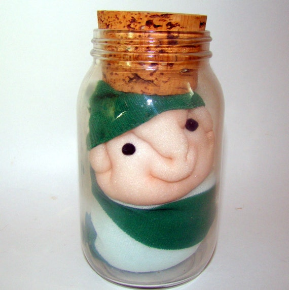 Pickled People, Soft Sculpture in Jar, Gag Gift