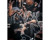Custom t-shirt created for Ice Cube