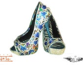 Custom Shoe and purse set created for Beyoncé