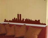 Vinyl Wall Decal Sticker New York Skyline World Trade 206