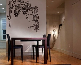Vinyl Wall Decal Sticker GRAPEVINE 231
