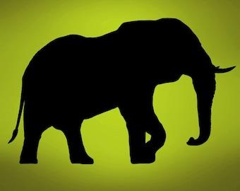 Vinyl Wall Decal Sticker Elephant Safari 289s