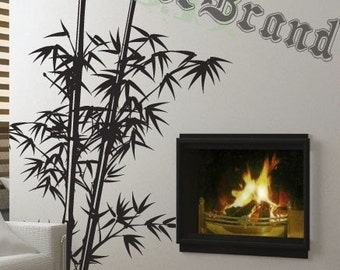 Vinyl Wall Decal Sticker Chinese Bamboo Asian 332