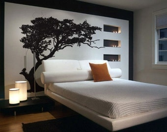 Vinyl Wall Decal Sticker TREE Shade Design 312