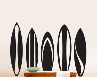Vinyl Wall Decal Sticker Surfboards Series Set Big item216A
