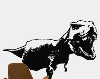 Vinyl Wall Art Decal Sticker T Rex Dinosaur Tyrannosaurus Rex 139s