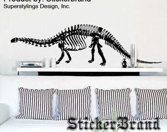 Vinyl Wall Sticker Broncosaurus Rex Dinosaur 379s