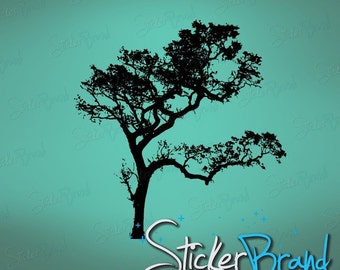 Vinyl Wall Decal Sticker Big Oak Tree 409