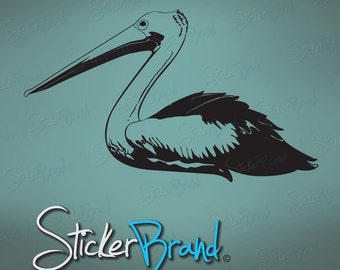 Vinyl Wall Art Decal Sticker Pelican 469