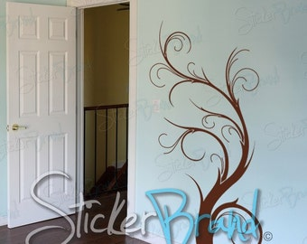 Vinyl Wall Art Decal Sticker Floral Plant 550