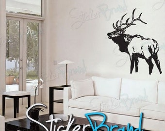 Vinyl Wall Decal Sticker Elk Deer 623
