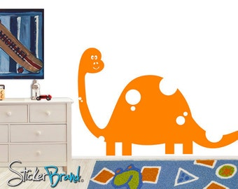 Vinyl Wall Decal Sticker Kid Friendly Dinosaur MM135s