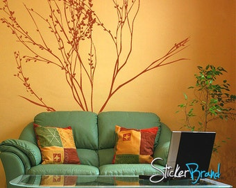 Vinyl Wall Decal Sticker Tall Tree Branches    MMartin140m
