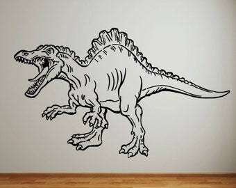 Vinyl Wall Decal Sticker Dinosaur Attack KRiley110m