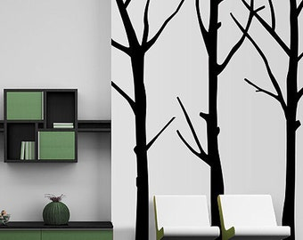 Vinyl Wall Decal Sticker Huge Bare Trees   MCrespo115B