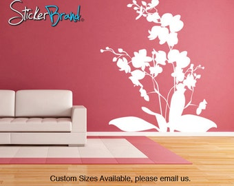 Vinyl Wall Decal Sticker Orchid Flowers      AC146B