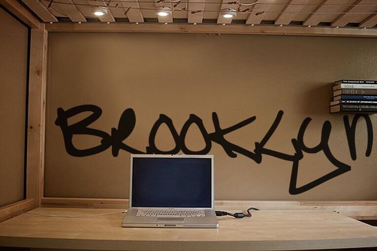 Vinyl Wall Art Decal Sticker Brooklyn Graffiti NYC Art Item - Custom vinyl decals brooklyn