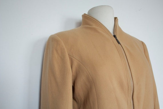 SALE Vintage CASHMERE FENDI Camel Color Jacket