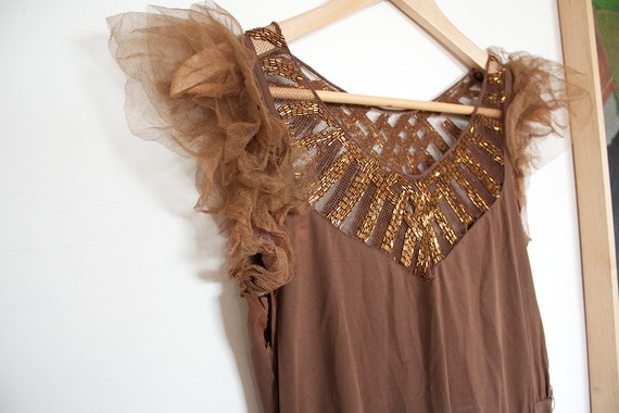 SALE // Vintage 1930's Art Deco Hollywood Glamour Gown // Greta Garbo Style