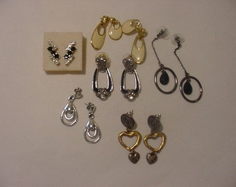 Six Sets Of Vintage Pierced Earrings    Nice  2011 - 37