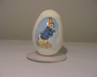 Vintage 1979 Schmid Peter Rabbit  Egg First Limited Edition  In Original Package  2011 -169