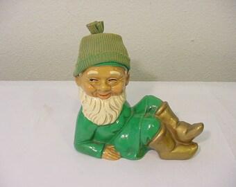 Vintage 1960's Era Gnome Figurine   12 - 279