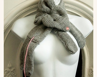 mouse scarf cowl neckwarmer