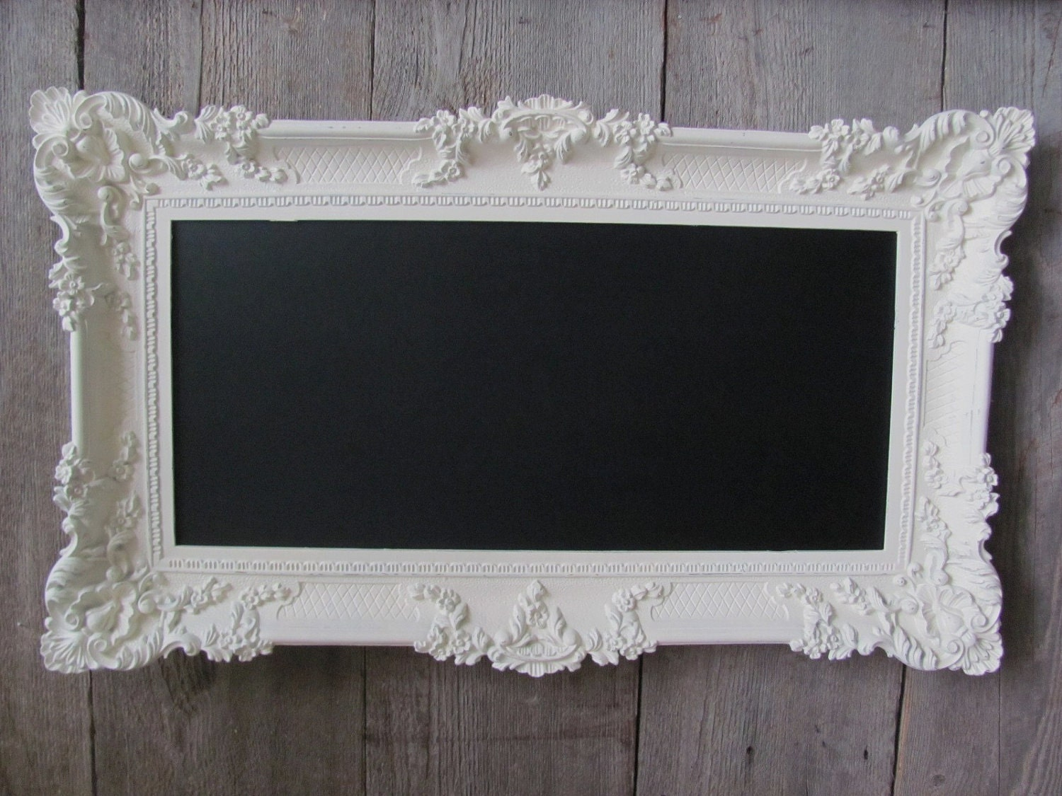 shabby chic wedding chalkboard gorgeous large by theshabbychateau
