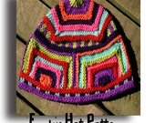 Funky Hat - knitted hat pattern