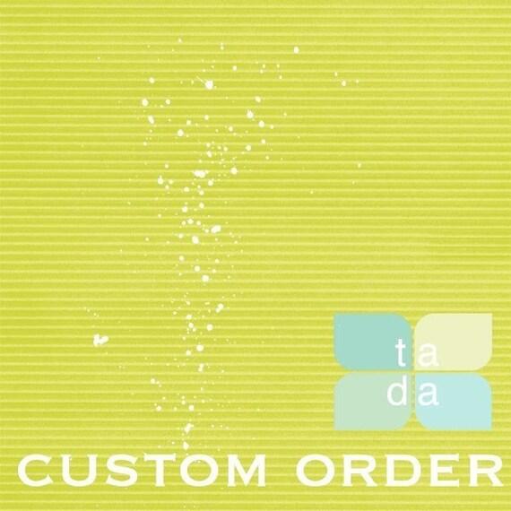 Custom Order for Camila