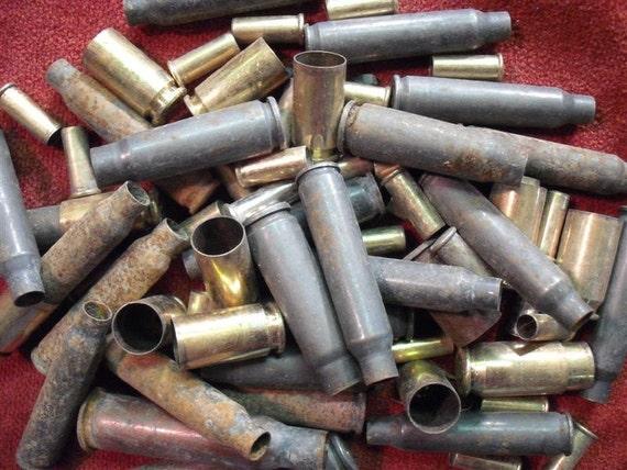 Bullet Shells and Casings - Huge Lot - Bite The Bullet