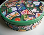 Vintage 1980's Girl Scout Tin - Treasury Item