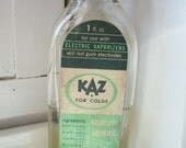Vintage Apothecary - KAZ for Colds Vaporizer Inhalant