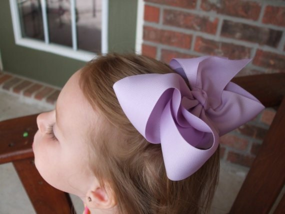 10 Extra Large Hair Bows, Many Colors to choose