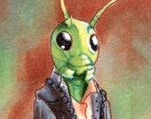 Once Upon a Time Jiminy Cricket ACEO