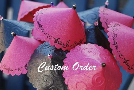 Custom Sample Order for Candace