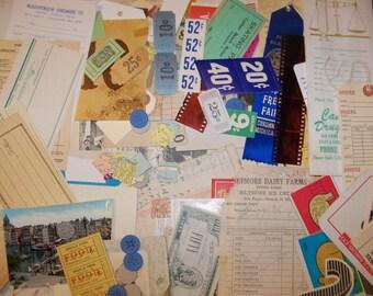 Vintage Ephemera Lot-1 and a half pounds-Paper-Mixed Media-Altered Art-Destash
