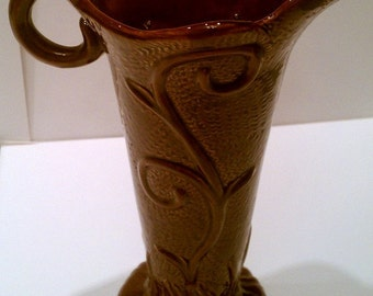 Antique Arts and Crafts Royal Alma Vase or Pitcher