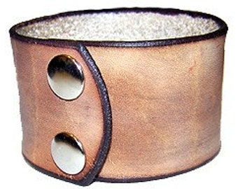 Item 020710 Hand Made Western Leather Wrist Cuff