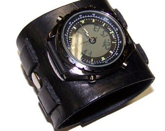 Everyday Cool Leather Watch Cuff (031711) - (watch face not included)