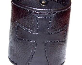 English Cross Gothic Wrist Cuff (021712)