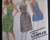 Vintage 1983 Wrap Dress Pattern