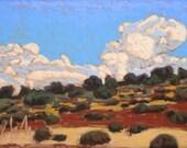 "Pastel Landscape ""Southwest"" Giclee Print"