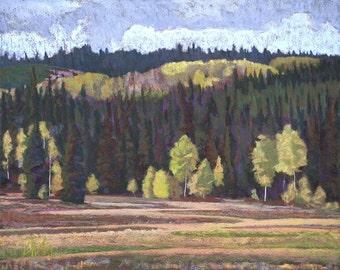 "Pastel Landscape ""West of West"" Limited Print"