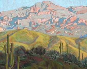 """Pastel Landscape """"Renewal"""" Limited Print"""