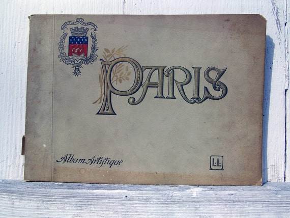PARIS Late 1800's FRENCH Black & White Photo Prints